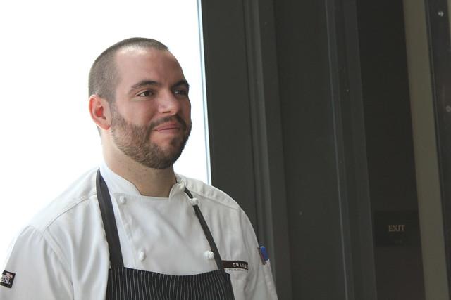 Sous-Chef Brad Cecchi - Grange IMG_0631