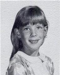 Lisa Maria Hackmann, first-grade student at St John Elementary School in Seward, Nebraska