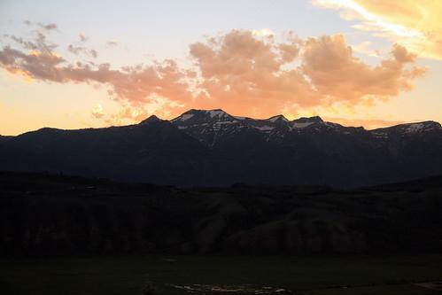 Teton Range from Granary Restaurant