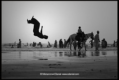 Joys of Life (Danial Shah) Tags: life from pakistan beach is back do with you joy your gift what creator karachi edanial muhammaddanial onepakistanonenation muhammaddanialshah