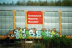 Sacer Eski (The Egg Man) Tags: snow art television train graffiti tv kill your dash crew mayhem sace sacer freight eski irak kyt