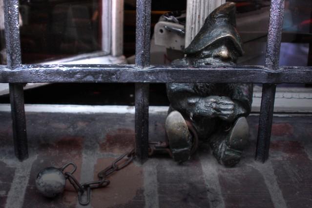 Więzień, the dwarf-prisoner