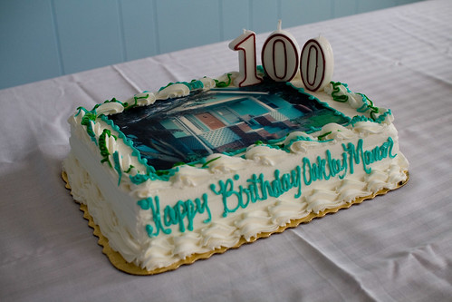Oakley Manor turns 100