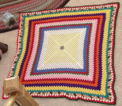 daughters granny afghan