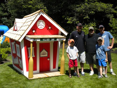 Una casa de Kids Crooked House