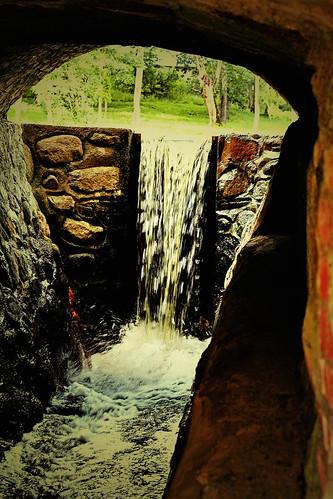 Plungės parkas - Krioklys