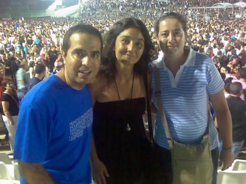 Nacho, Esther e Isa en Benidorm 30-7-2009