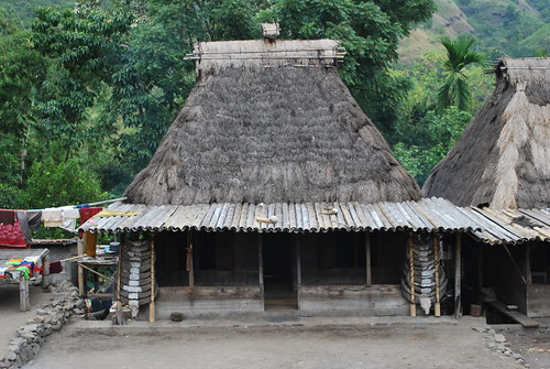 Traditional House at Bena village