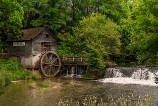 Hyde's Mill, south of Spring Green, Wisconsin