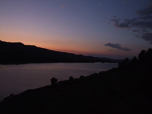 Horsetooth at Dusk