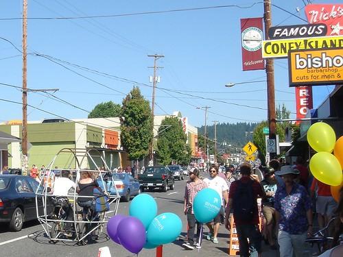 Hawthorne Street Fair, Portland, Oregon, 2009