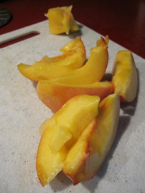 Hacked Peach