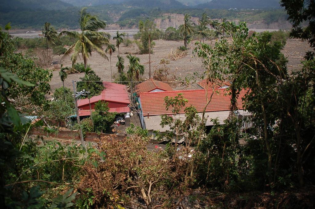六龜鄉小林村僅存房屋