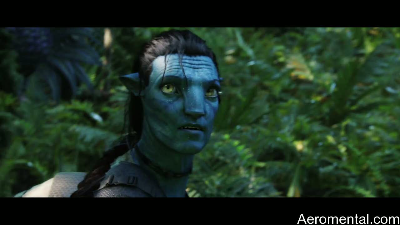 película Avatar Navi selva