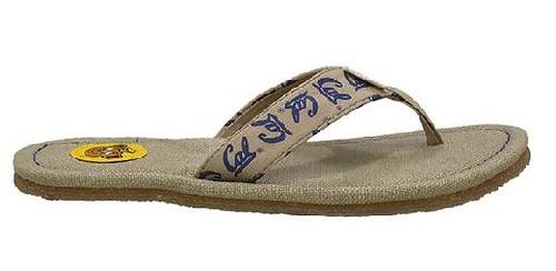 Toe Foo flip flops from Simple Shoes