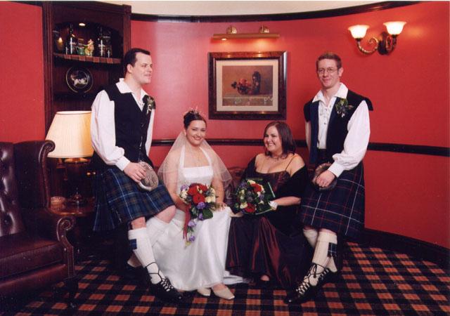 Ray and Nicole wedding - 5th November 2003