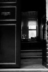 """""""A photograph is usually looked at - seldom looked into."""" (nilgun erzik) Tags: türkiye istanbul siyahbeyaz pencere fenerbalat fotografkıraathanesi fotografca biyerlerde eylul2009 kapıaralığından şehirdezaman"""