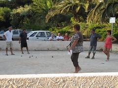 Peeps Playing Boule (timelas) Tags: france nath marseilles