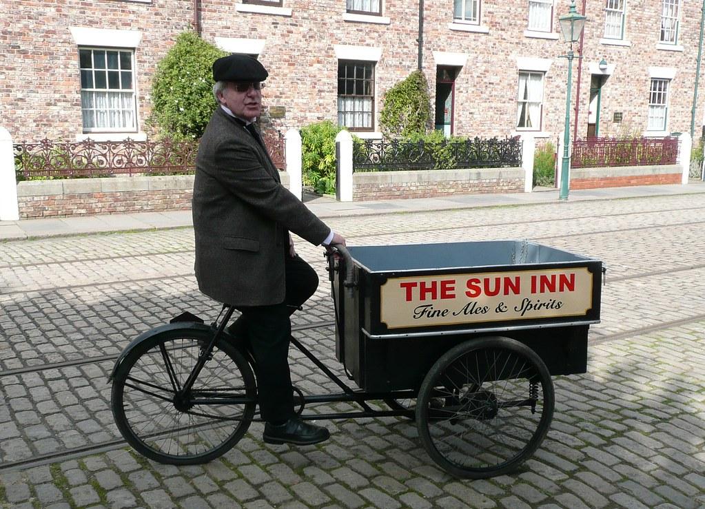 Delivery Bike Cheek!