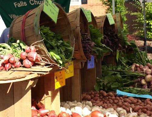 barrels of produce