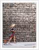 Casual Look (Paco CT) Tags: barcelona people woman dog wall pared mujer gente candid personas perro explore casual persons 2009 candidshot laribera efh robado elfactorhumano thehumanfactor humanpresence pacoct presenciahumana labandadelcharco travelsofhomerodyssey