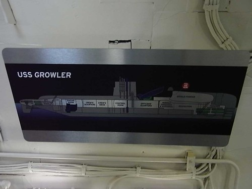 uss growler map