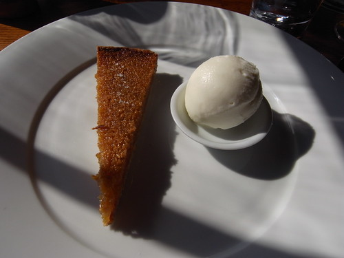 Hind's Head treacle tart