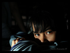 the stare... (maldito kid) Tags: portrait d50 eyes sb600 stare bacolod maldito