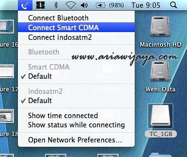 Haier CDMA bundling C700 Smart on Apple Mac OS X