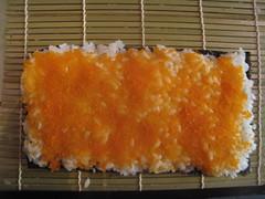 Layer on caviar