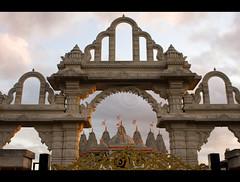 Day 141 of 365 - Gateway to the temple (Riyazi) Tags: details assignment architectural 365 mandir shri dps swaminaryan threesixtyfive