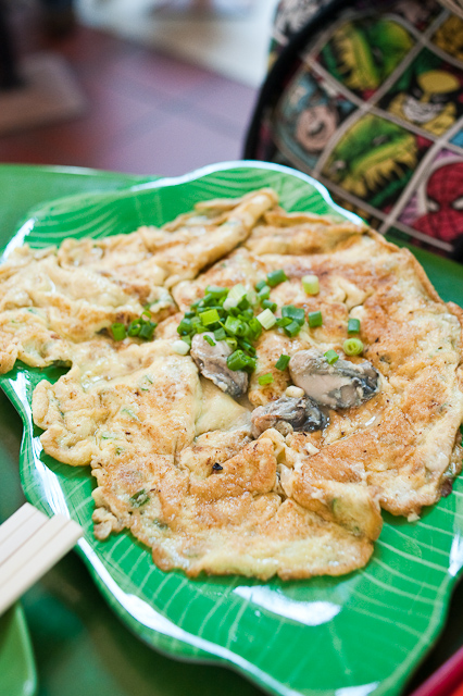 Oyster pancake