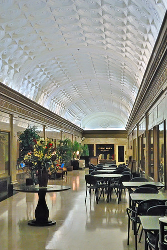 Lobby of the Paul Brown Building, in downtown Saint Louis, Missouri, USA