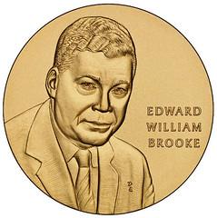 Brooke Congressional Gold Medal obverse