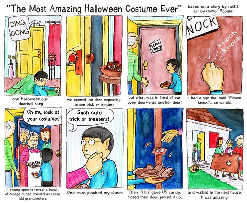 The greatest Halloween costume ever by docpop