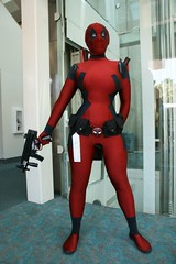 Fem-Deadpool (BelleChere) Tags: lady comics costume cosplay marvel bellechere deadpool rule63 ladydeadpool femaledeadpool