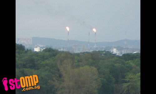 Johor refineries spew smoke day and night over Punggol