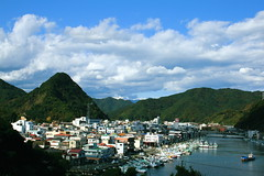 Another view of Shimoda City  (only1tanuki) Tags: japan  izu shimoda izupeninsula  shizuokaprefecture   shimodacity  21 shimodafuji