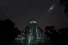 Deep in the Jungle Primeval.  This is my 200th image to make it onto Explore!  Thanks everyone for visiting my photostream! (David M Hogan) Tags: night stars landscape temple nikon honeymoon pyramid guatemala mayan jungle tikal templei tikalnationalpark davidhogan d5000