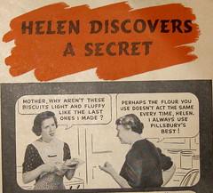1937 Helen discovers a secret part 1 (DALAIWMN) Tags: pictures vintageads