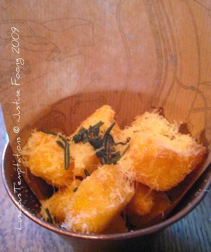 Crispy Polenta Chips - Jaime's Italian
