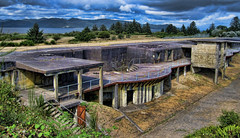 Fort Stevens-West Battery looking North (Ken Campbell Photografix) Tags: abandoned army war fort military worldwarii artillery defense fortstevens