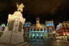 Plaza Mayor, Valladolid (Castilla y León), Spain HDR (marcp_dmoz) Tags: españa spain nikon nightshot map valladolid nocturna plazamayor tone hdr spanien nachtaufnahme castillayleón photomatix tonemapped tonemapping d700 1735mmf28nikkor ansúrez