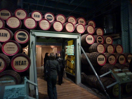 Coopering section of the Guinness Storehouse