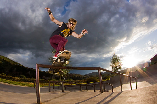 Skateboard photography tip #1: Use a fisheye