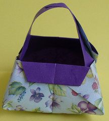 Cestinha em Origami (rosanemalavazzi) Tags: origami cestinha bemcasados lembraninhas