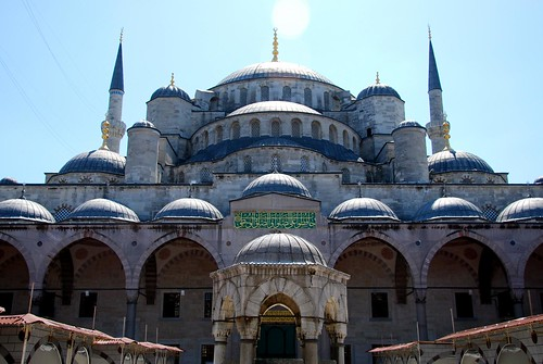sultan ahmed (the blue mosque), istanbul