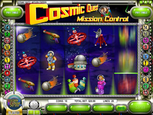 Cosmic Quest Episode One slot game online review
