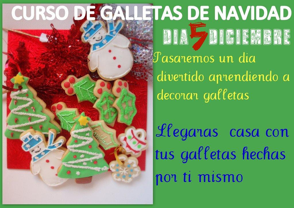 CURSO GALLETAS NAVIDAD
