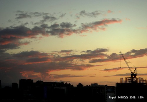 上了腮紅的雲彩-2009.11.25